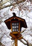 Houten traditionele Japanse lantaarn Royalty-vrije Stock Foto's
