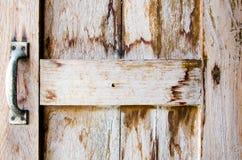 Houten venster Stock Afbeeldingen