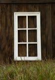 Houten venster Stock Foto