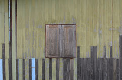 Houten venster Royalty-vrije Stock Afbeeldingen