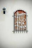 Houten venstersschrijver uit de klassieke oudheid Royalty-vrije Stock Afbeelding