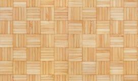 Houten vierkant naadloos textuurpatroon Royalty-vrije Stock Afbeelding