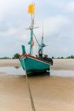 Houten visserij Stock Fotografie