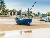 Houten vissersboot Royalty-vrije Stock Fotografie