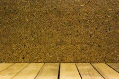 Houten vloer Stock Afbeelding