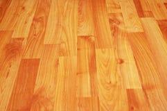 Houten vloer - kan als achtergrond worden gebruikt Stock Fotografie