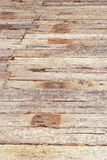 Houten vloer in zonlicht royalty-vrije stock afbeeldingen