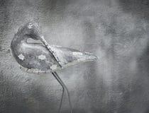 Houten vogel royalty-vrije stock fotografie
