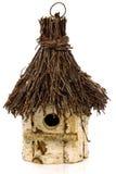 Houten vogelhuis Royalty-vrije Stock Foto