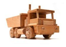 Houten vrachtwagen Stock Foto's