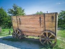 65-houten Wagen royalty-vrije stock afbeeldingen