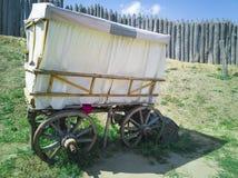 85-houten Wagen royalty-vrije stock afbeeldingen