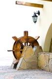 Houten watermolen Royalty-vrije Stock Foto