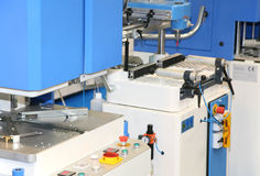 Houten werkende machine royalty-vrije stock afbeelding
