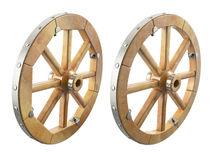Houten wiel Royalty-vrije Stock Foto