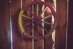 Houten wiel Royalty-vrije Stock Afbeelding