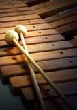 Houten xylofoon Royalty-vrije Stock Afbeelding