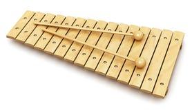 Houten xylofoon vector illustratie