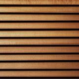 Houten zonneblindenmacro stock afbeelding