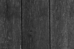 Houten zwart-witte korrel Stock Foto