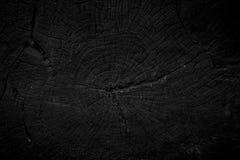 Houten Zwarte Achtergrond Royalty-vrije Stock Foto