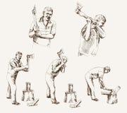 Houthakker royalty-vrije illustratie
