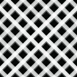 Houthakkersplaid Schots patroon in witte en zwarte kooi Schotse kooi Buffelscontrole Traditioneel Schots Ornament Vector vector illustratie