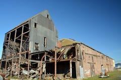 HoutKorenmolen, Christchurch, Nieuw Zeeland Royalty-vrije Stock Afbeelding
