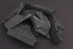 houtskool Royalty-vrije Stock Afbeeldingen