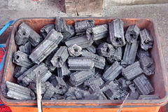 houtskool Stock Afbeelding