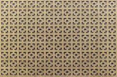 Houtvezelplaatachtergrond Decoratief paneel van houtvezelplaat Houten rooster van houtvezelplaat stock fotografie