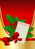 Houx de Noël Image libre de droits