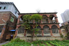 houxi教堂牧师房子  库存图片
