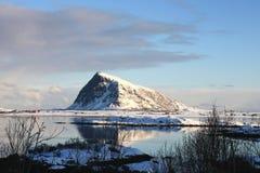 Hov, der des Wikingers heilige Berg Stockfoto