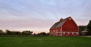 Hovander farmy park w Ferndale, Waszyngton Fotografia Royalty Free