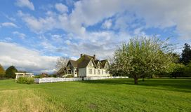 Hovander Homestead Park in Ferndale, Washington Royalty Free Stock Images