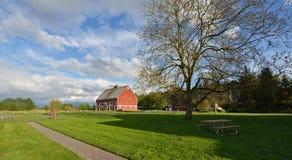 Hovander Homestead Park in Ferndale, Washington Stock Photos