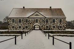 Hovdala城堡 库存照片