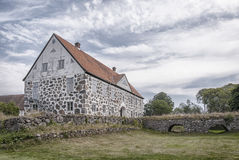 Free Hovdala Castle From Moat Royalty Free Stock Photos - 47002608