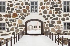 Hovdala gate house Stock Image