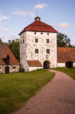 Hovdala-Schloss Gatehouse stockfoto