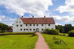 Hovdala-Schloss im Nord-skane Lizenzfreies Stockbild