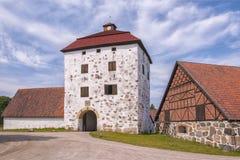 Hovdala Slott Gatehouse Stock Photo