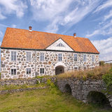 Hovdala Slott From Moat Royalty Free Stock Image