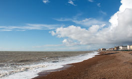 Hove Beach Royalty Free Stock Photo