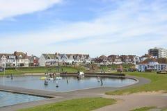 Hove Lagoon, Brighton, Sussex, England Stock Images