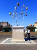 Hove Plinth. The Hove Plinth constellation installation in Sussex, England royalty free stock image