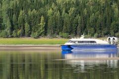 hovecraft επιβάτης Στοκ φωτογραφία με δικαίωμα ελεύθερης χρήσης