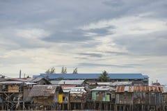 Hovel, хибарка, лачуга в Филиппинах стоковое фото