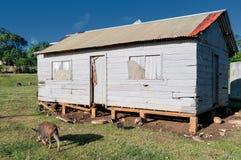 Hovel, shanty, shack in Tonga, Polynesia Royalty Free Stock Image